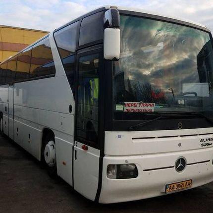 330 Автобус Mercedes белый аренда