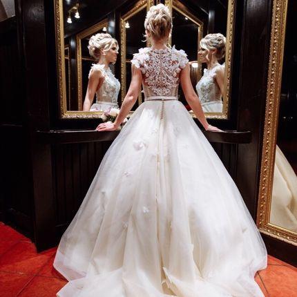 Платье с 3D декором
