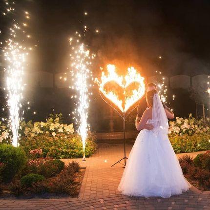 Огненное сердце + 2 фонтана