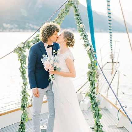 Аренда яхты для свадьбы