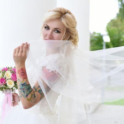 Свадебный образ (макияж +прическа)