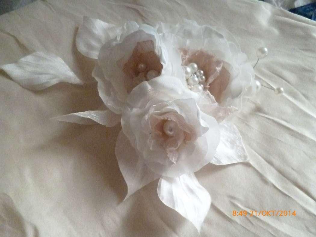 """Фото 6759114 в коллекции цветы из ткани - Студия дизайна""""Creative office Tosya arS"""""""