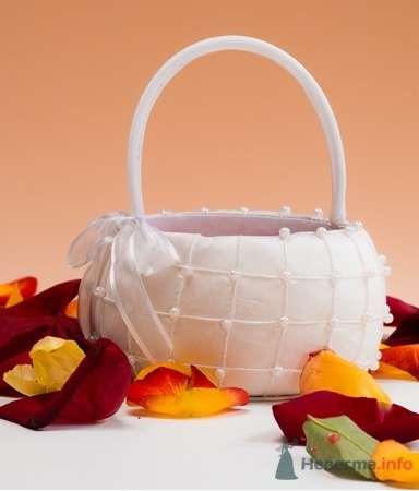 Корзинка для лепестков. Жемчуг - фото 53565 RosyDog – свадебные аксессуары из Америки и Европы