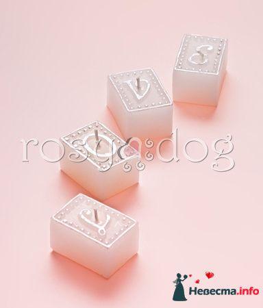 Свадебная свеча LOVE