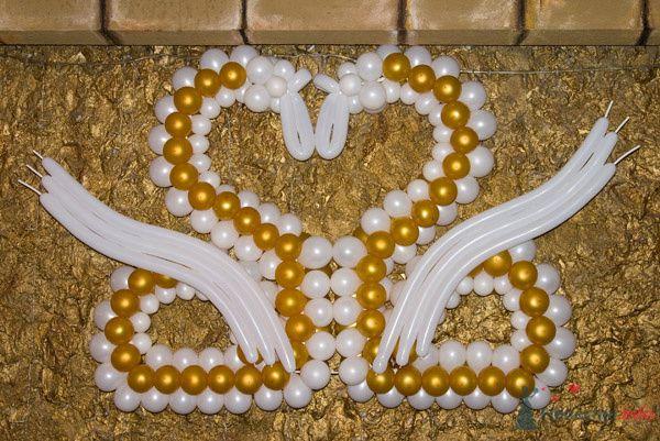 Фото 77840 в коллекции Оформление воздушными шарами - Невеста01