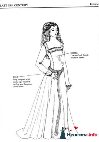 Платье 15 века - фото 131336 Incognito