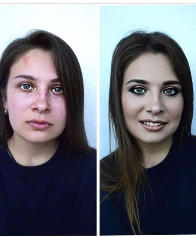 Дневной макияж с акцентом на глаза - фото 17799668 Стилист-визажист Измоденова Ксения