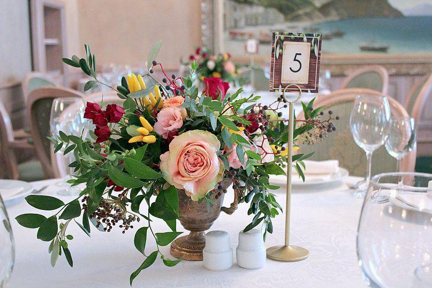 """Фото 18469824 в коллекции Ресторан """"La Scala"""" - Flowerwave decor - оформление и декор"""