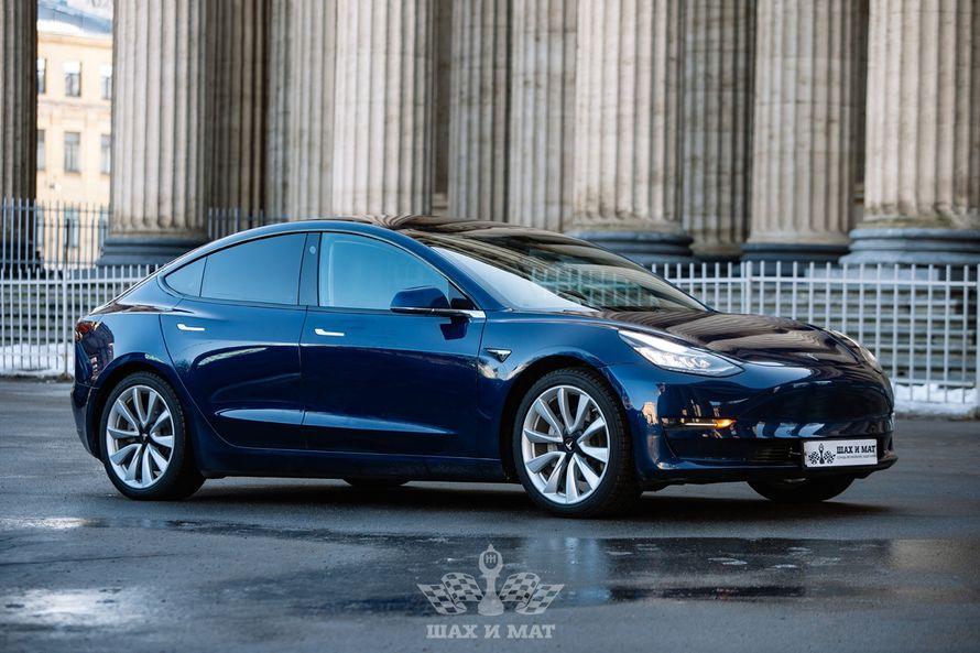 Tesla Model 3 Long Range (blue) в аренду, цена за час