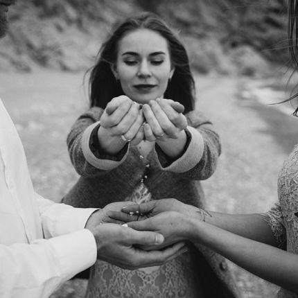 Ведущая свадебной церемонии