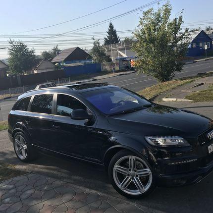 Аренда Audi Q7, 1 час
