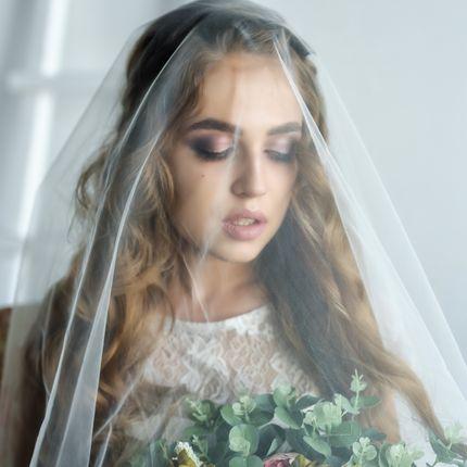 Прическа + макияж невесты