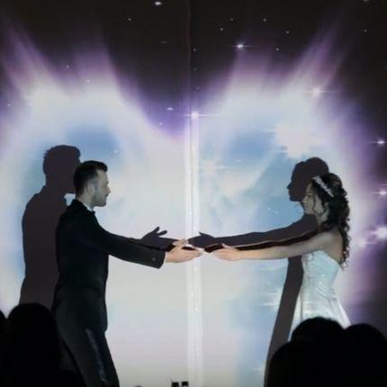 Свадебное проекционное шоу