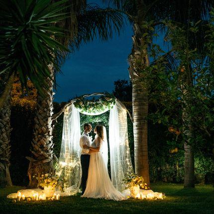 Организация символической свадьбы на Сицилии для двоих