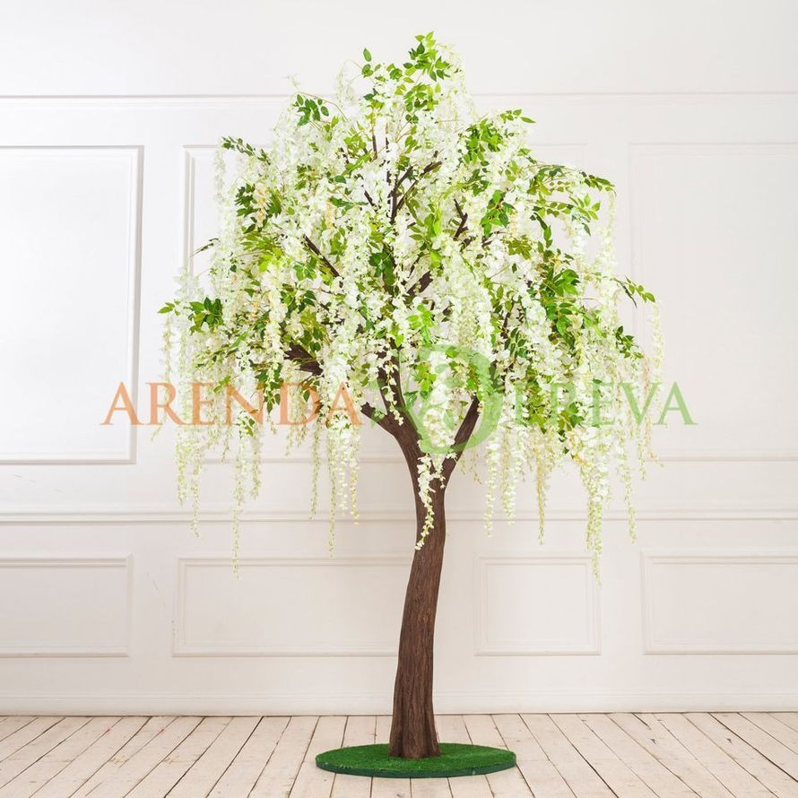 """Искусственное дерево """"Глициния белая"""" в аренду"""