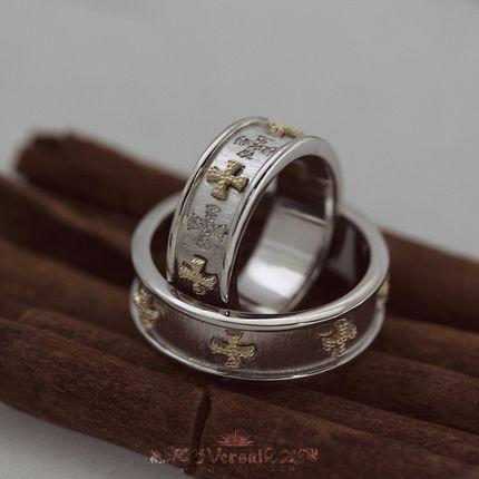 Парные обручальные кольца, артикул VGOK0100