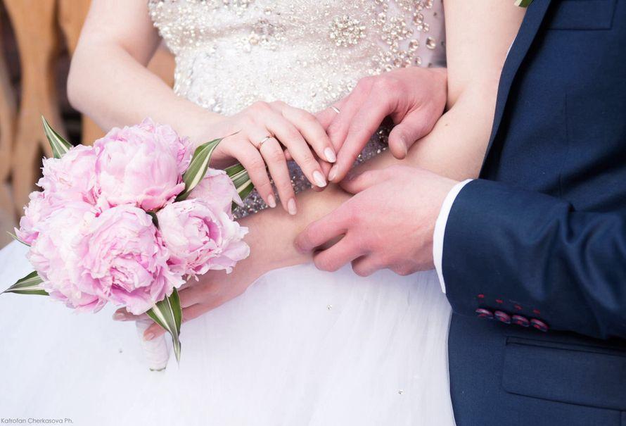 Букет невесты  Пионы.