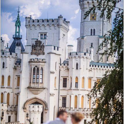 Организация свадьбы в замке Глубока над Влтавой
