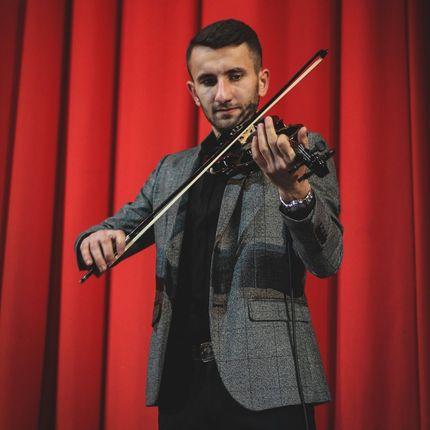 Электронная скрипка - выступление