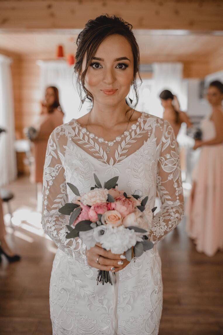 Образ невесты (причёска + макияж), цена от