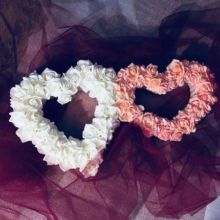 Сердца из фоамирана