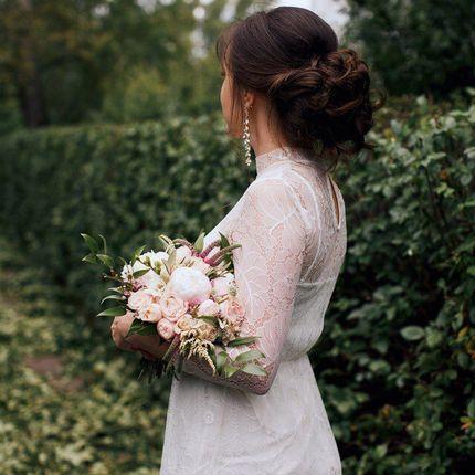 Причёска невесты + выезд