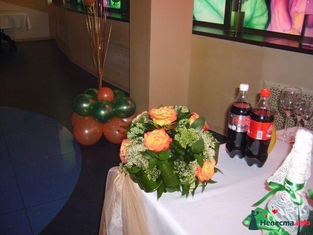 Фото 131373 в коллекции Цветочные шары. Свадьба 07.08.2010 - Подружка невесты - свадебный организатор и распорядитель