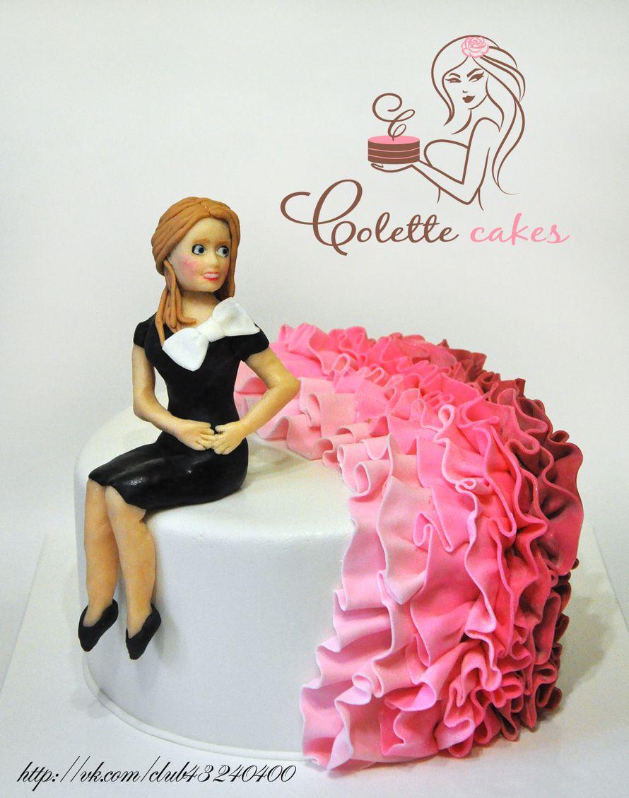 Оформление тортов для девушек фото