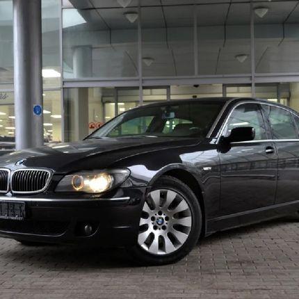 BMW 7 серии Long, черный в аренду, 1 час