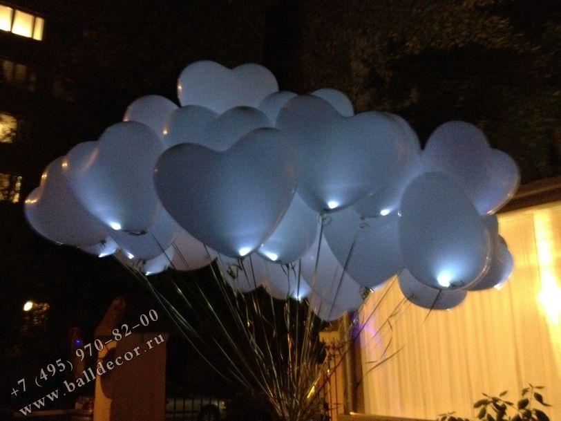 Фото 1820069 в коллекции Светодиодные шары на свадьбу - Пини Бум - Оформление воздушными шарами