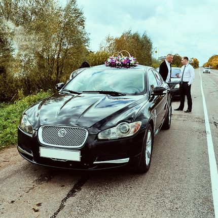 Jaguar XF в аренду