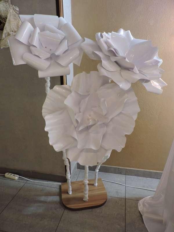 Фото 18595122 в коллекции Декор свадебного зала объемными цветами - AриКэт - оформление мероприятий