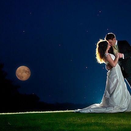 Организация ночной свадьбы