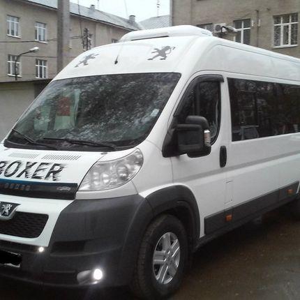 Аренда автобуса Пежо Боксер