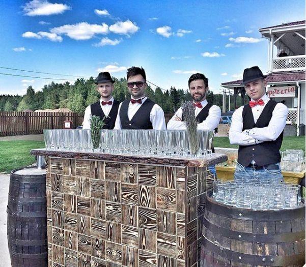 Выездной коктейльный бар-шоу