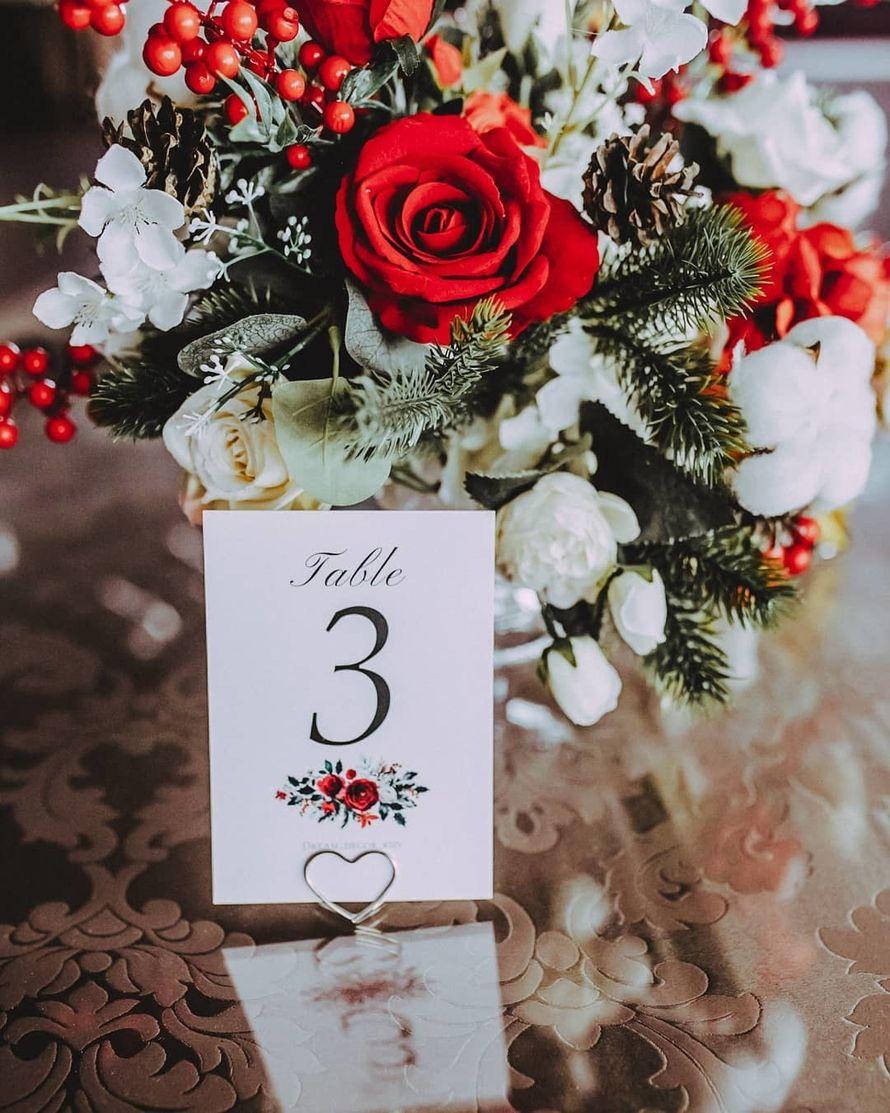 Декор на столы гостей - вазы, цена от