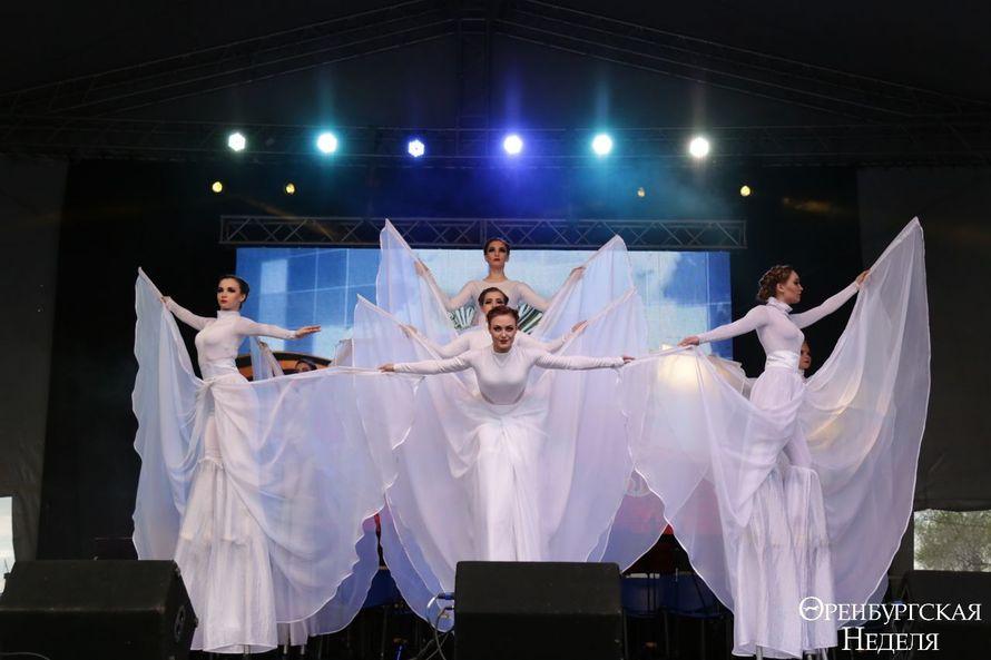 Танцевальный перфоманс Журавли