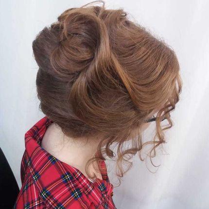 Причёска ракушка