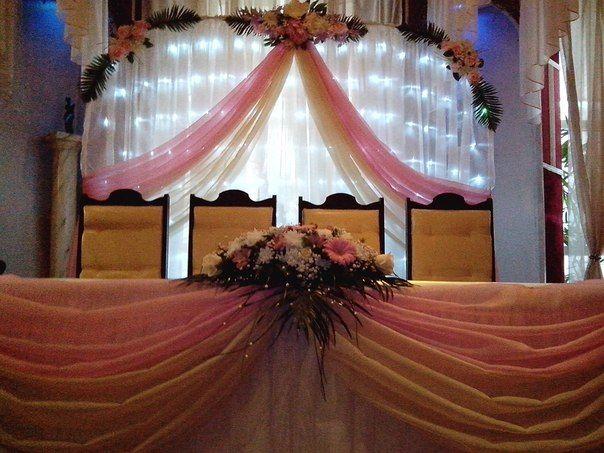 """Розово-кремовая свадьба.Ресторан """" La Rotonda"""" - фото 1126677 Amor Amor свадебная мастерская декора"""