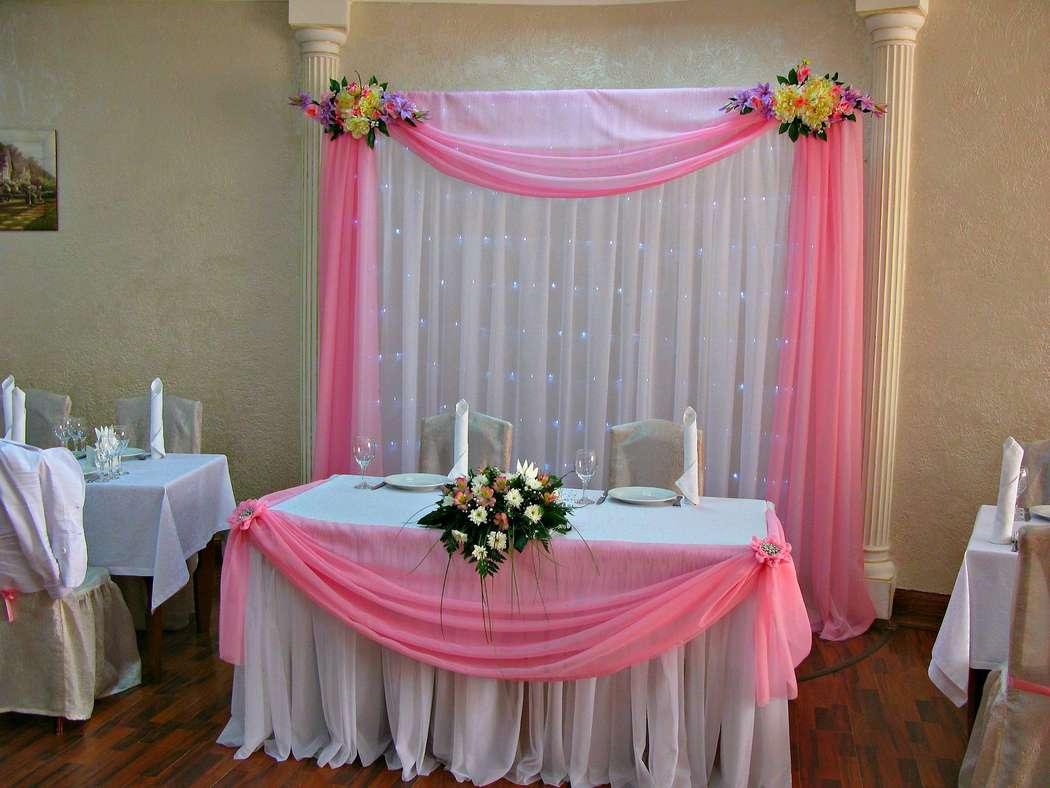 """Оформление в розовом цвете.Ресторан """" Максима"""" - фото 1263961 Amor Amor свадебная мастерская декора"""