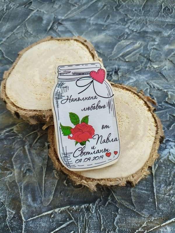 Фото 19045056 в коллекции Магниты на свадьбу - Гела - деревянные магниты