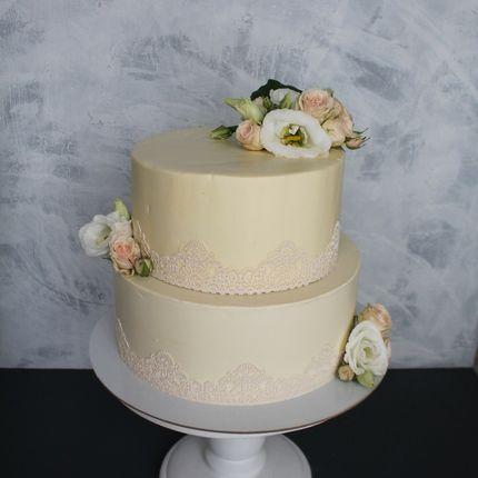 Торт с кремом, 1 кг.