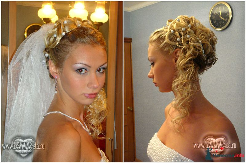 Прическа и макияж Марии (длинные волосы) - фото 116754 Свадебный стилист-визажист Севостьянова Наталья