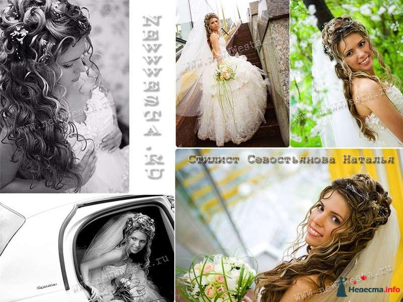 Прическа и макияж Натальи (длинные волосы) - фото 116758 Свадебный стилист-визажист Севостьянова Наталья