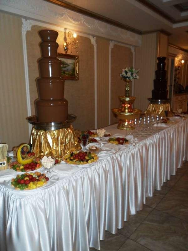 """Фото 15495836 в коллекции Свадьбы с нашими шоколадными фонтанами. - Кондитеры """"Шоколадная радуга"""""""