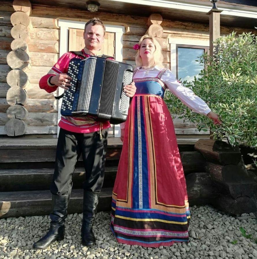 Выступление фольклорной группы
