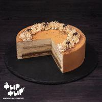 Муссовый торт Карамель-мокко