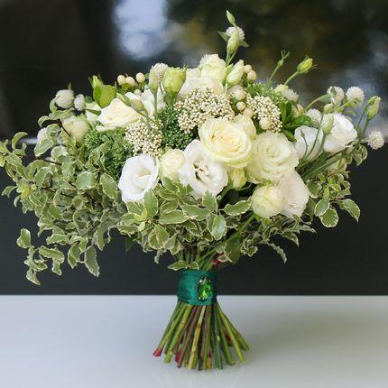 Букет-растрепыш невесты