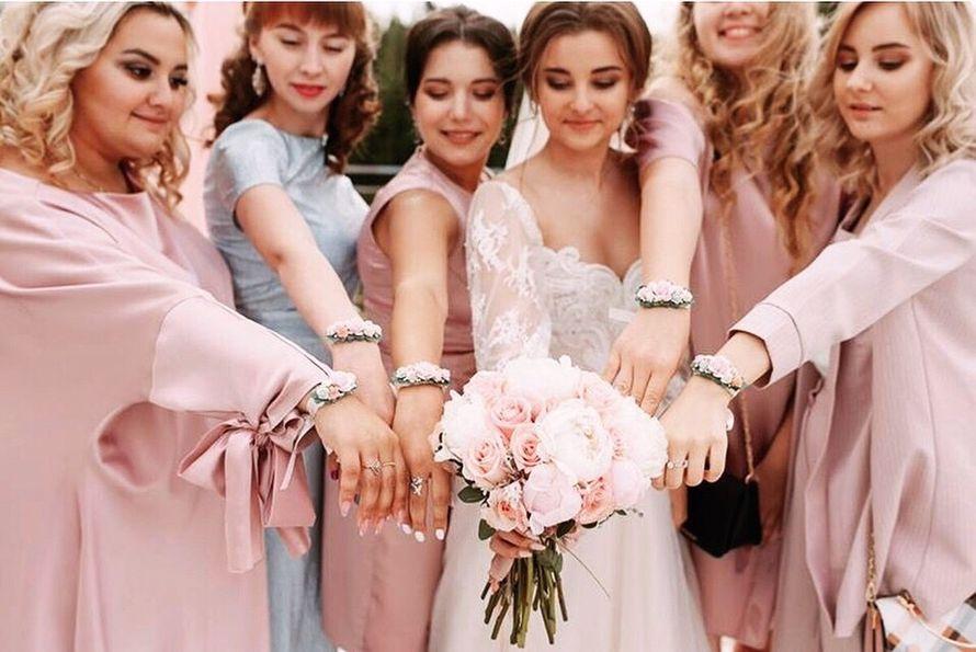 """Фото 19215966 в коллекции Пудровый свадебный набор для невесты Екатерины - Студия декора """"So Beautiful"""""""