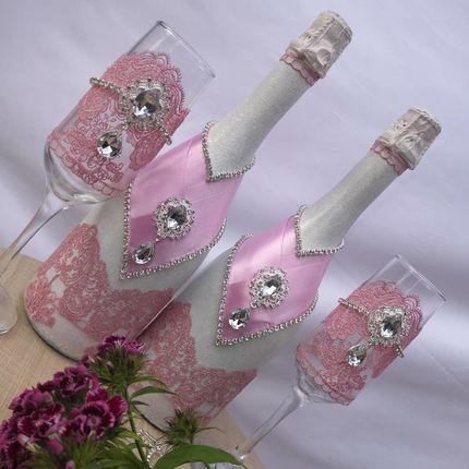 Оформление шампанского (стоимость спиртного не входит)